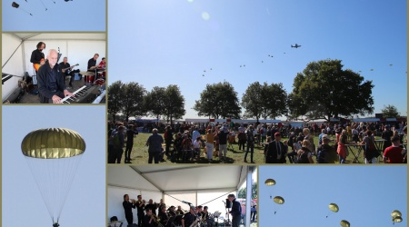 collage Airborne herdenking